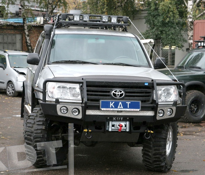 Багажник КДТ для Toyota Land Cruiser 105